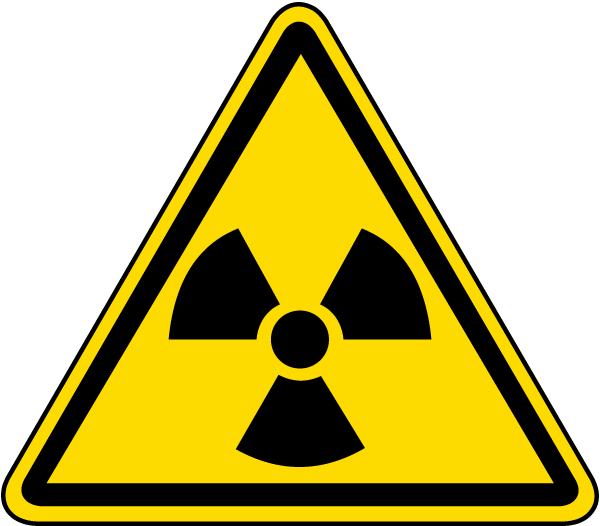 Radioactive Material / Radiation Label