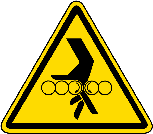 Hand Entanglement With Rollers Label