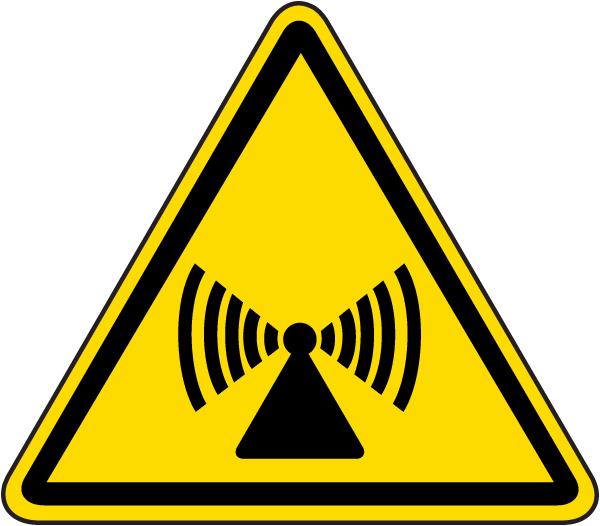 Non-Ionizing Radiation Label