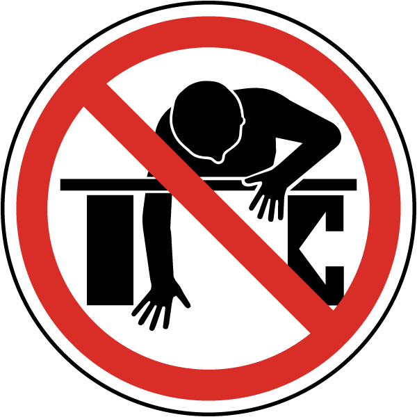 Do Not Reach Into Label