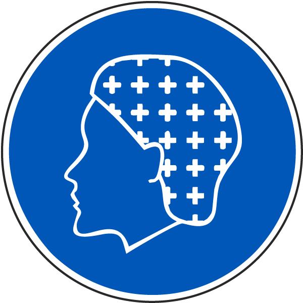 Wear Hairnet Label