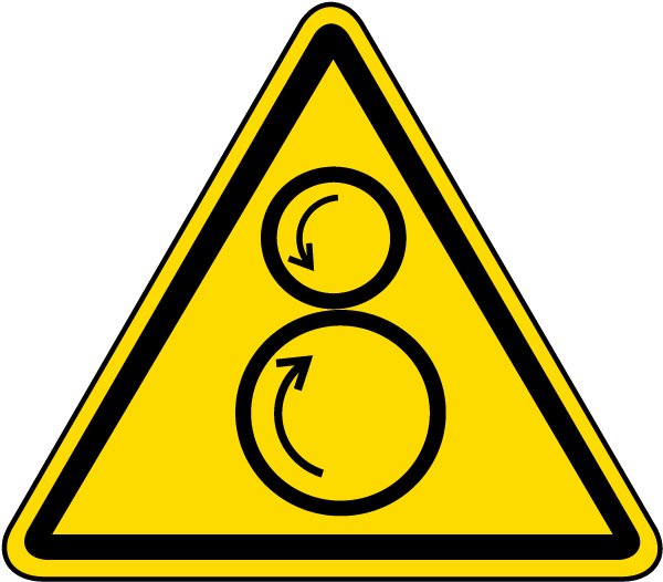 Counter Rotating Rollers Label