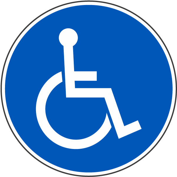 International Symbol of Accessibility Label