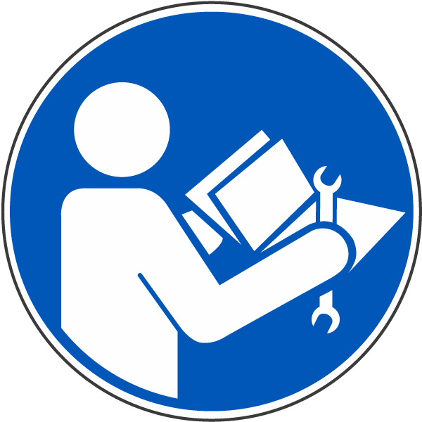 Refer to Instruction Manual/booklet Label