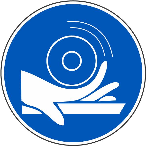 Hand Entanglement / Roller Label