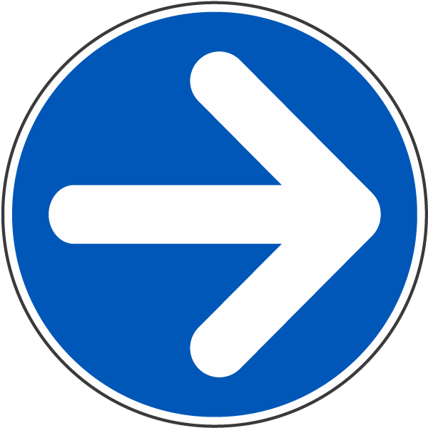 Right Arrow Label