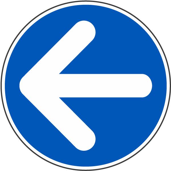 Left Arrow Label