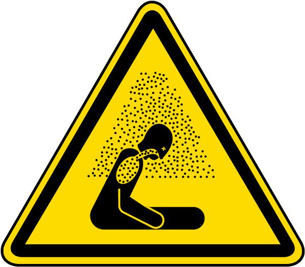 Asphyxiating Atmosphere Warning Label