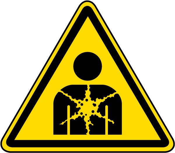Substance or Mixture Presenting a Health Hazard Warning Label
