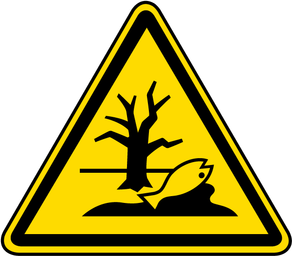 Substance or Mixture That Can Cause an Environmental Hazard Warning Label