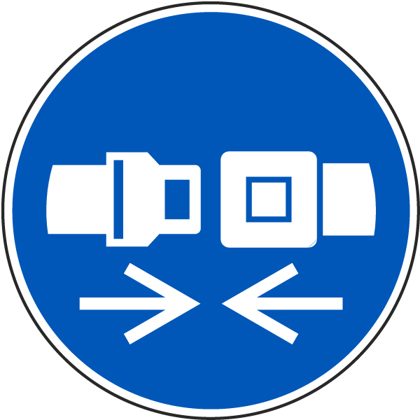 Wear Safety Belts Label