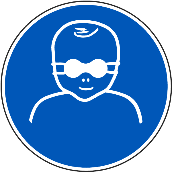 Protect Infants' Eyes With Opaque Eye Protection Label