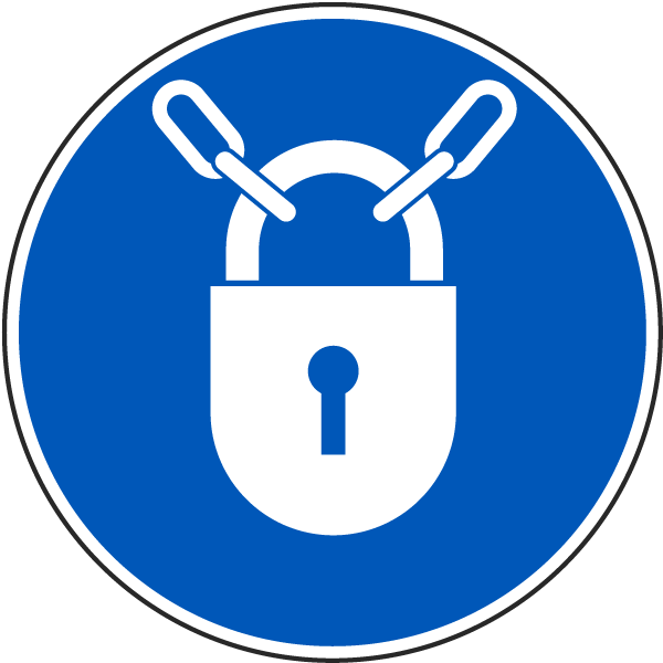 Keep Locked Label