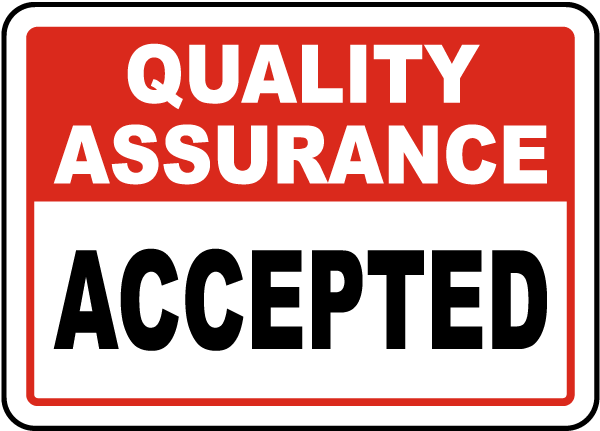 Accepted Sign
