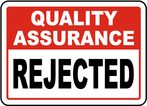 Rejected Sign
