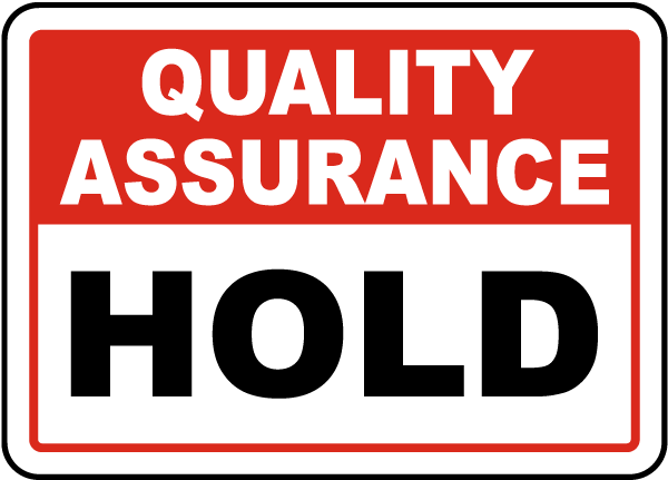 Hold Sign