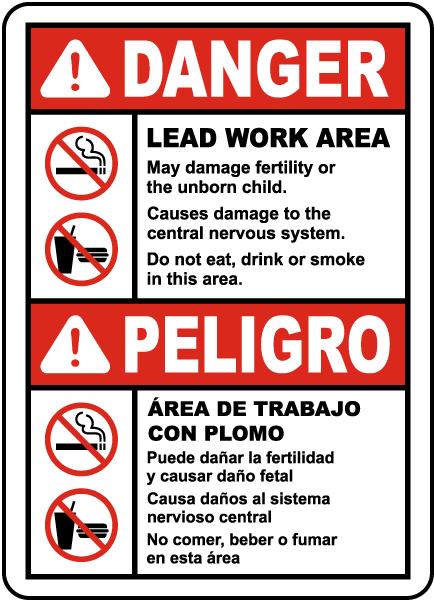 Bilingual OSHA Lead Work Area