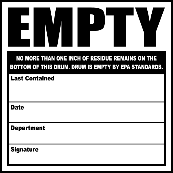 Empty Label