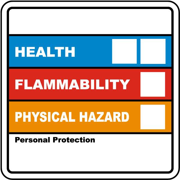 Hazardous Material ID Label