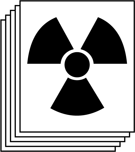 Special Hazard - Radioactive For Blank NFPA Diamond