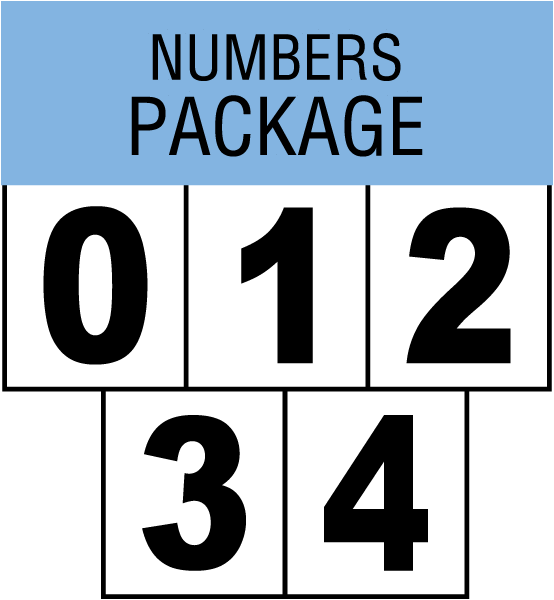 Numbers For Blank NFPA Diamond