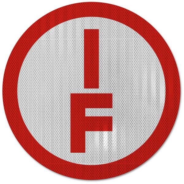 NY Type I Floor Truss Sign