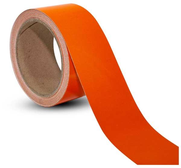 Orange Reflective Floor Marking Tape
