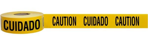 Bilingual Caution Tape