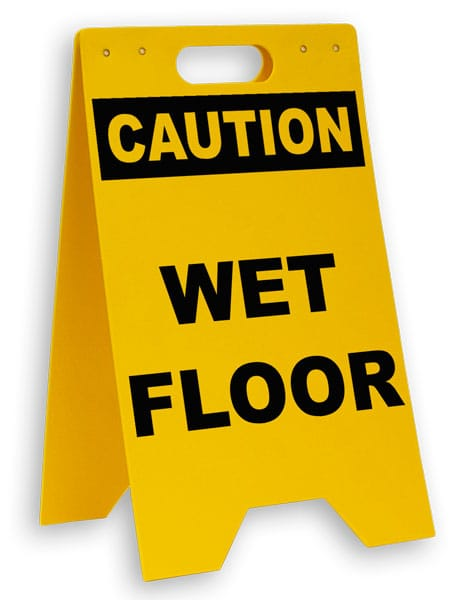 caution wet floor floor sign p5345 by. Black Bedroom Furniture Sets. Home Design Ideas