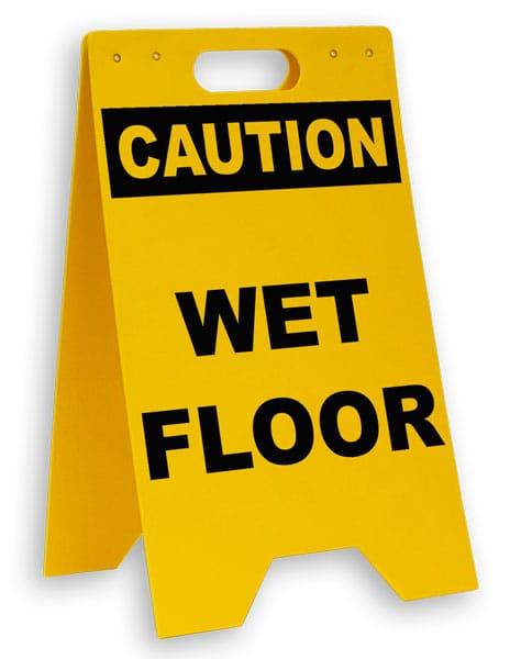 Caution Wet Floor Floor Sign