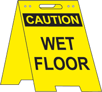 Caution Wet Floor Floor Stand