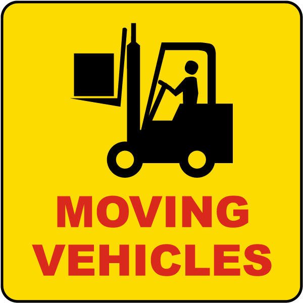 Moving Vehicles Label