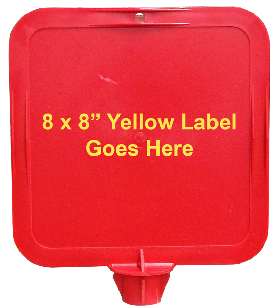 Lock-In Label Frame