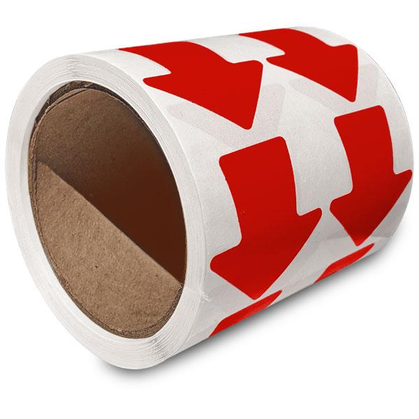 Red Arrow Floor Marking Tape