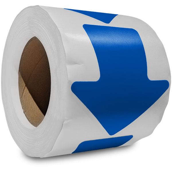 Blue Arrow Floor Marking Tape