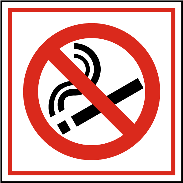 No Smoking Symbol Sign