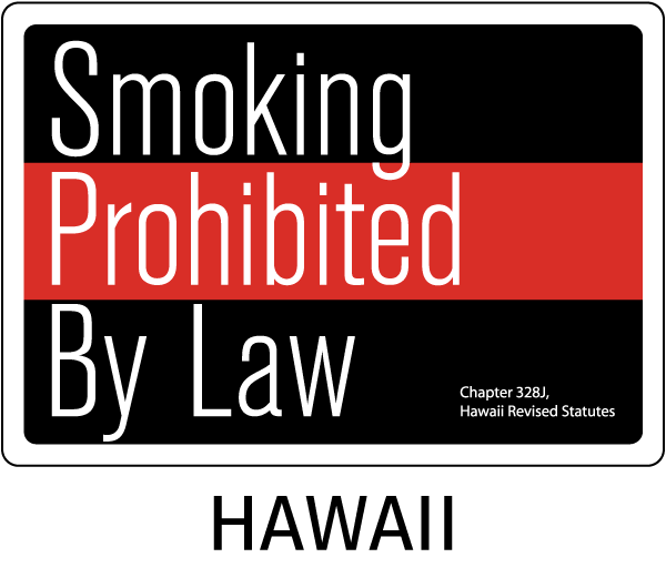 Hawaii Smoking Prohibited By Law Chapter 328J Hawaii Revised Statutes