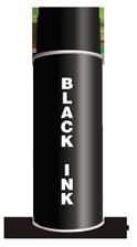 Black Stencil Spray Paint