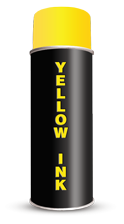 Yellow Stencil Spray Paint