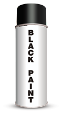 Permanent Water Based Black Stencil Paint