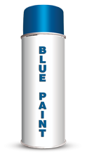 Permanent Water Based Blue Stencil Paint