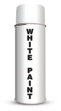 Permanent Water Based White Stencil Paint