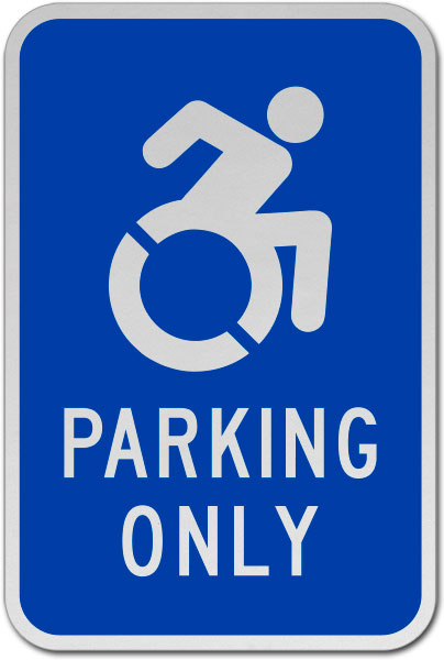 Accessible Parking Only Sign
