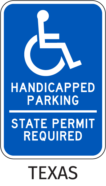 State Permit Required Sign