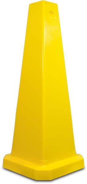 Yellow Wet Floor Cone
