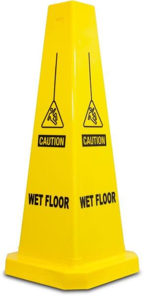 Caution Wet Floor Cone
