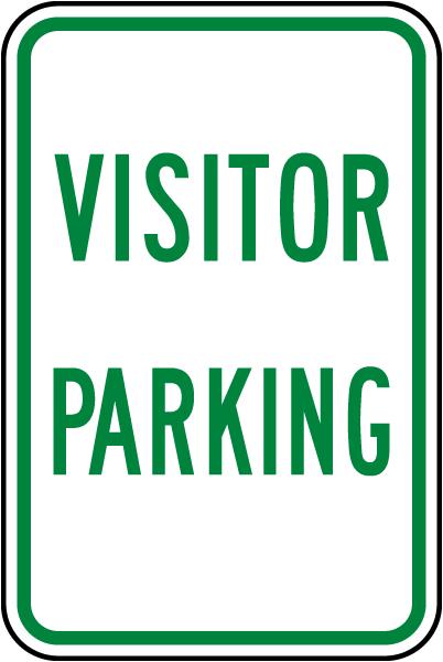 Visitor Parking Sign
