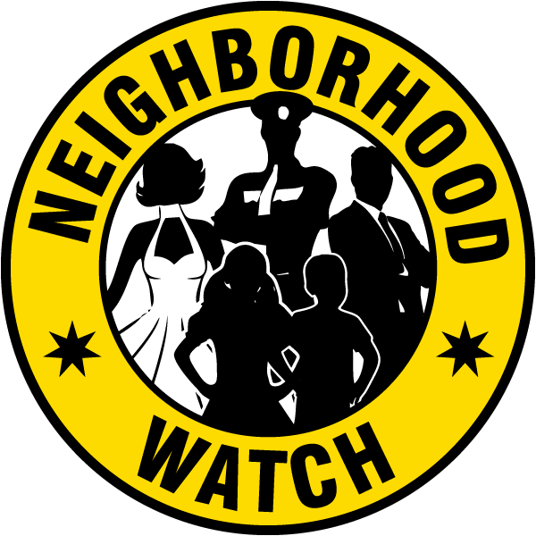 Neighborhood Watch Label
