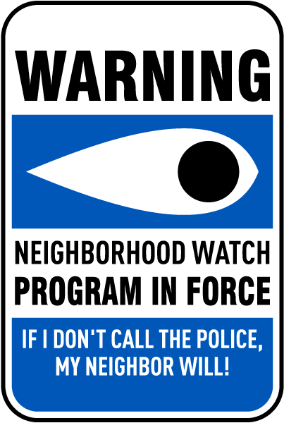 neighborhood watch programs Starting a neighborhood watch 1 of 3  when the neighborhood decides to adopt the watch idea  participate in the program.