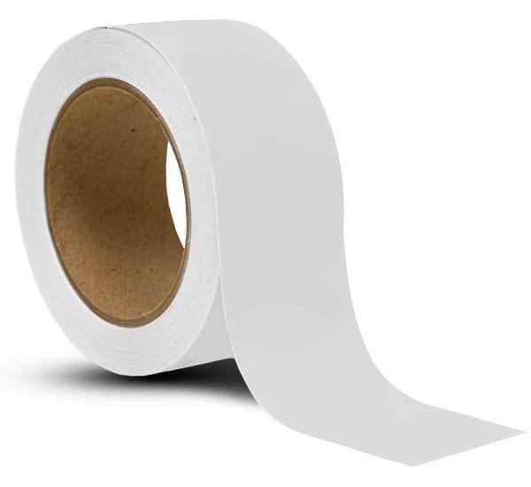White Vinyl Floor Marking Tape